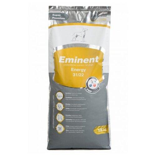 Корм для собак Eminent (15 кг) Energy 31/22 для взрослых собак майка для собак lion manufactory lm21001 01 размер l