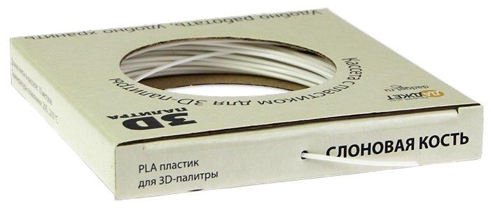 PLA пруток Даджет 1.75 мм белый