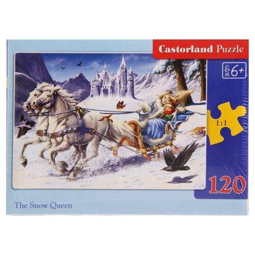 Купить Пазл Castorland Снежная королева (C120-12589), элементов: 120 шт., Пазлы