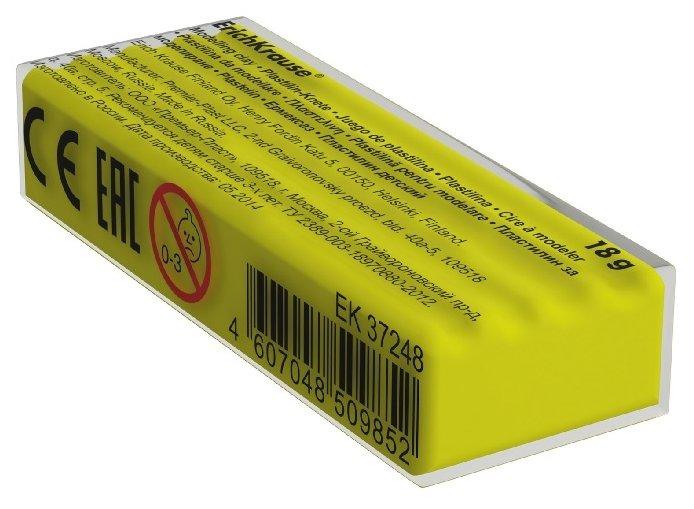 Пластилин ErichKrause Флуоресцентный желтый 18 г (37266)