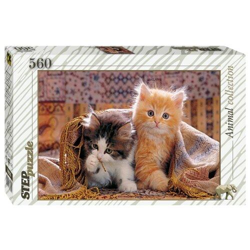 Купить Пазл Step puzzle Animal Collection Котята (78026), 560 дет., Пазлы