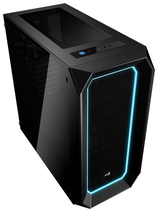 Компьютерный корпус AeroCool P7-C0 Black — купить по выгодной цене на Яндекс.Маркете