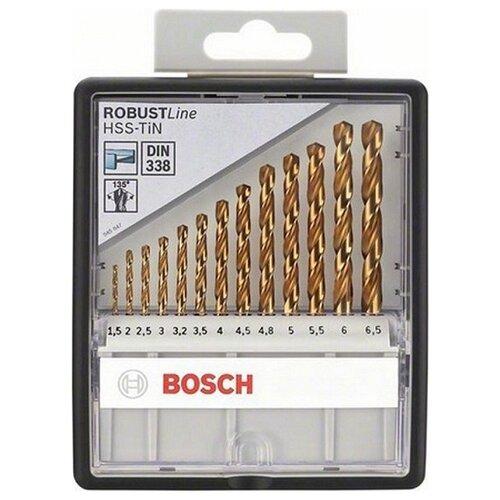 Фото - Набор сверл BOSCH Robust Line 2.607.010.539 набор сверл bosch robust line multi construction 2 607 010 543
