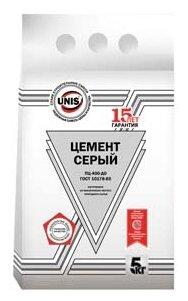 Цемент Unis ЦЕМ I-32,5Н Серый М400