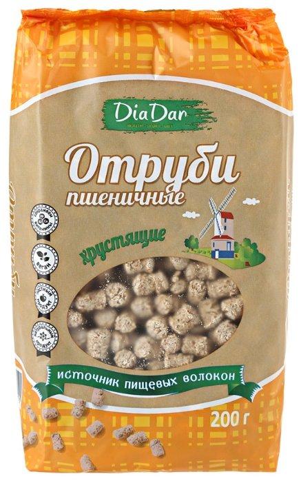 Отруби ДИАДАР хрустящие пшеничные, 200 г