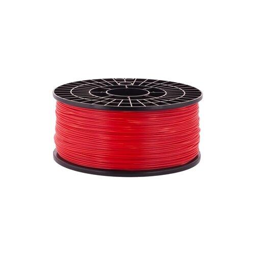 PLA пруток на катушке Мастер Пластер 1.75 мм красный 1 кг