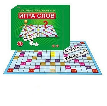Настольная игра Рыжий кот Игра слов ИН-0053