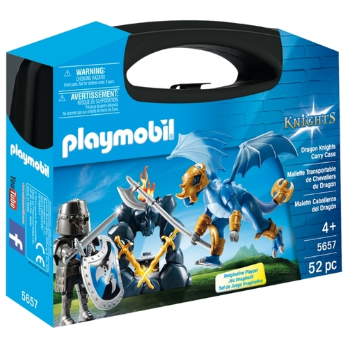 Набор с элементами конструктора Playmobil Knights 5657 Рыцарь Дракона