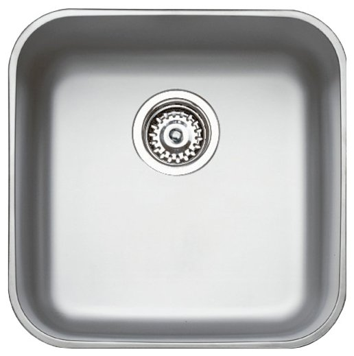 Врезная кухонная мойка TEKA Basico BE 400 1B 43.54х43.54см нержавеющая сталь