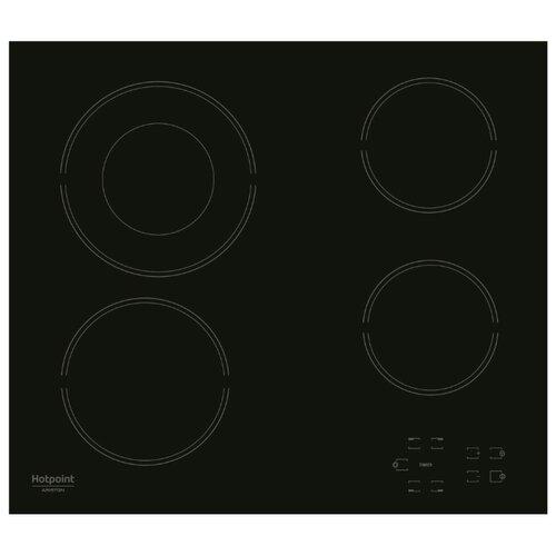 Электрическая варочная панель Hotpoint-Ariston HR 622 C варочная панель электрическая ariston kis 841 f b черный