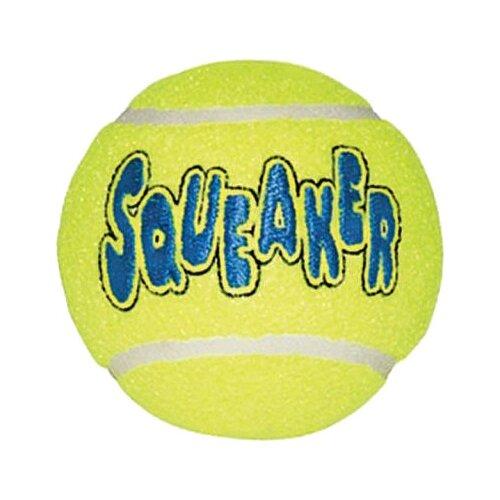 цена Мячик для собак KONG Air теннисный средний (AST2B) желтый онлайн в 2017 году