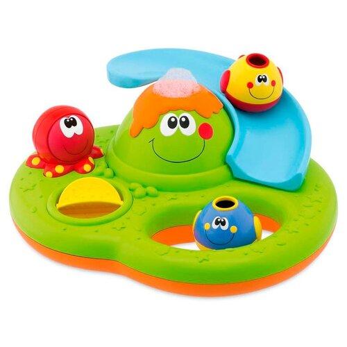Купить со скидкой Игрушка для ванной Chicco Остров с пузырьками (70106) разноцветный