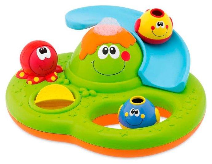 Игрушка для ванной Chicco Остров с пузырьками (70106)