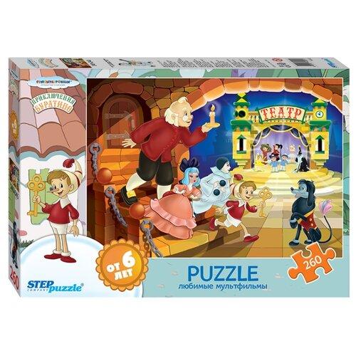 Купить Пазл Step puzzle Буратино - 3 (74062), элементов: 260 шт., Пазлы