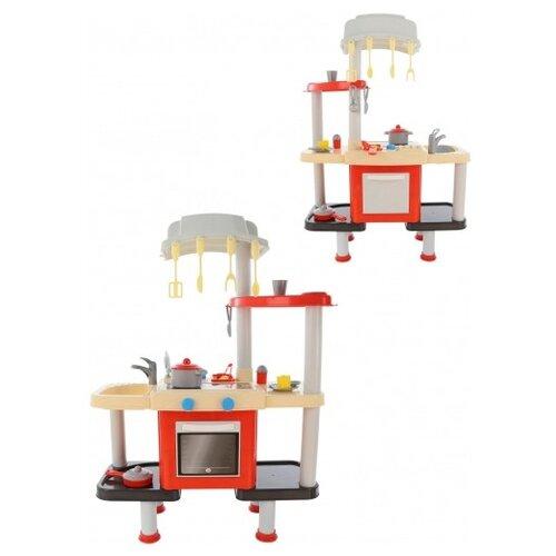 цена на Кухня Palau Toys 157 921 красный/бежевый/серый