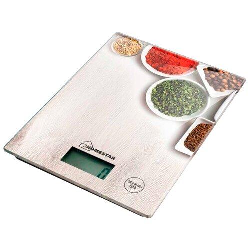 Кухонные весы HOMESTAR HS-3008 специи кухонные весы homestar hs 3008 черный
