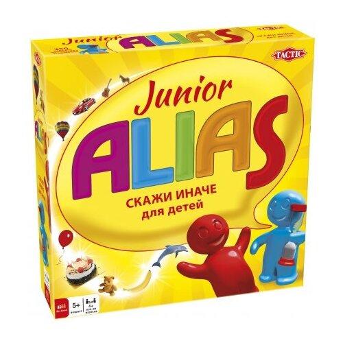 цена Настольная игра TACTIC ALIAS Junior. Второе издание онлайн в 2017 году