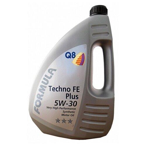 Синтетическое моторное масло Q8 Formula Techno FE Plus 5W-30, 4 л