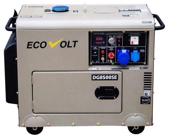 Дизельный генератор Ecovolt DG6000SE-3 (4480 Вт)