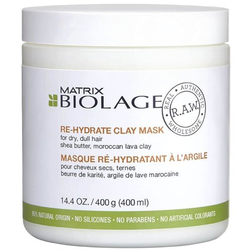 Biolage Маска-детокс для сухих волос Re-Hydrate R.A.W., 400 млМаски и сыворотки<br>