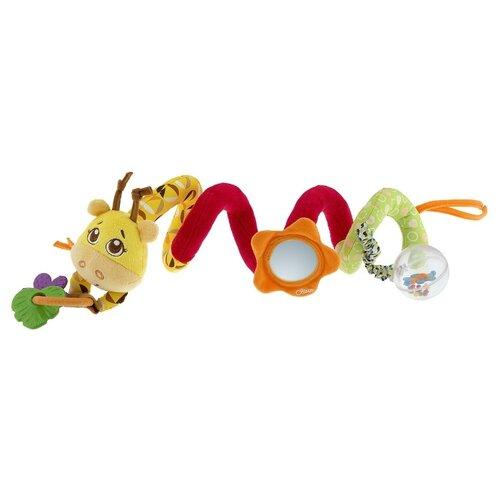 Купить Подвесная игрушка Chicco Джунгли на прогулке (7201) желтый/красный/зеленый, Подвески