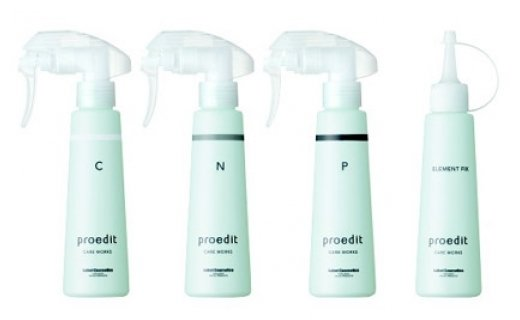 Lebel Cosmetics СПА-программа для волос и кожи головы Proedit Element Charge