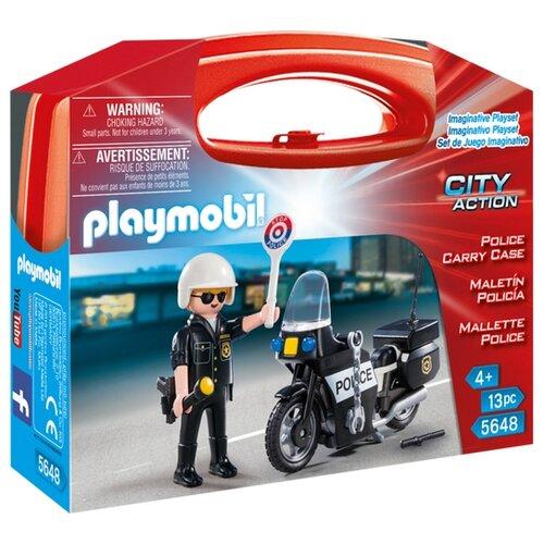 Купить Конструктор Playmobil City Action 5648 Полиция, Конструкторы