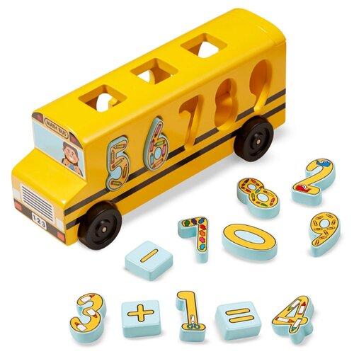 Фото - Сортер Melissa & Doug Автобус plantoys сортер каталка plan toys автобус