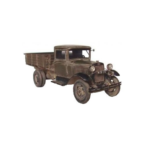 Сборная модель ZVEZDA Советский армейский грузовик Полуторка (ГАЗ-АА) (3602) 1:35 сборная модель zvezda советский грузовик 4 5 тонны зис 151 3541 1 35