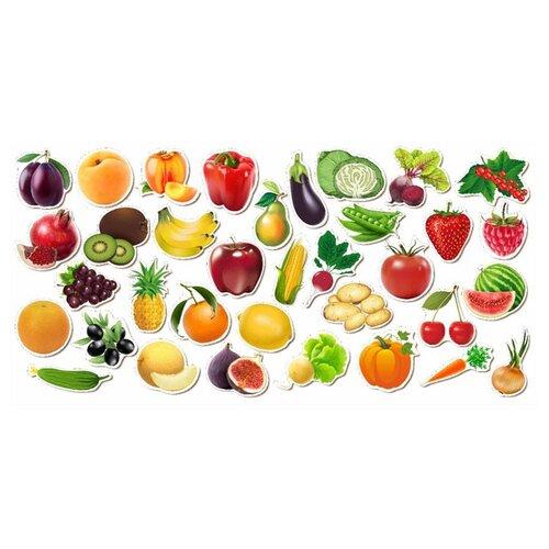 Рамка-вкладыш Woodland Овощи, фрукты, ягоды (111401), 35 дет.