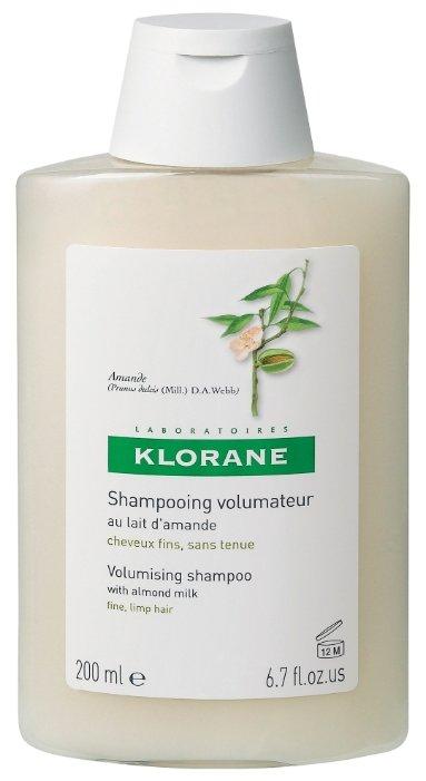 Klorane шампунь Volunizing with almond milk