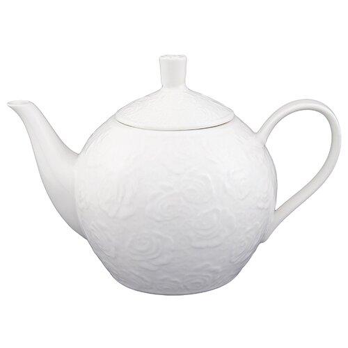 Elan gallery Заварочный чайник 1,3 л белые розы