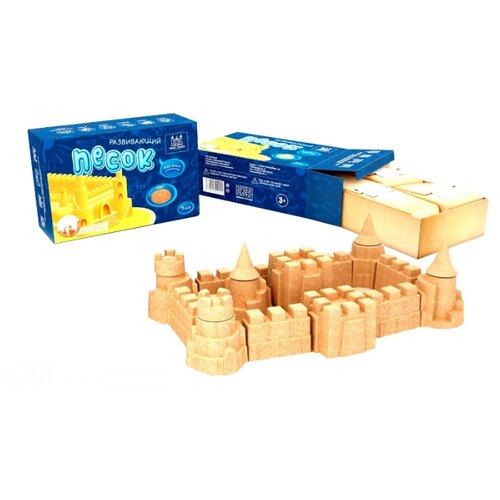 Купить Кинетический песок ARHI-SAND без формочек бежевый 1 кг картонная пачка