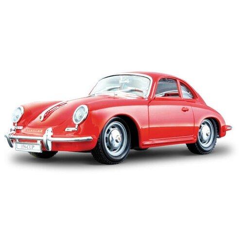 Купить Легковой автомобиль Bburago Porsche 356B Coupe (1961) (18-22079) 1:24 красный, Машинки и техника