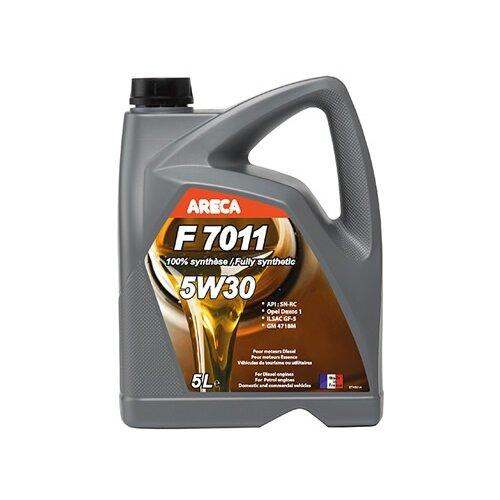 Синтетическое моторное масло Areca F7011 5W30 5 л