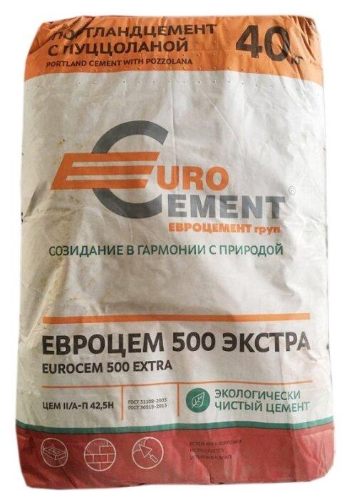 Цемент Евроцемент ЦЕМ II/А-П 42.5Н 40 кг. М500