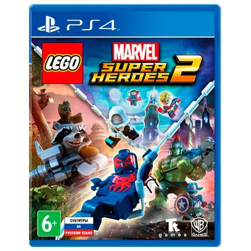 Игра для PlayStation 4 LEGO Marvel Super Heroes 2 game deals nintendo switch lego marvel super heroes 2