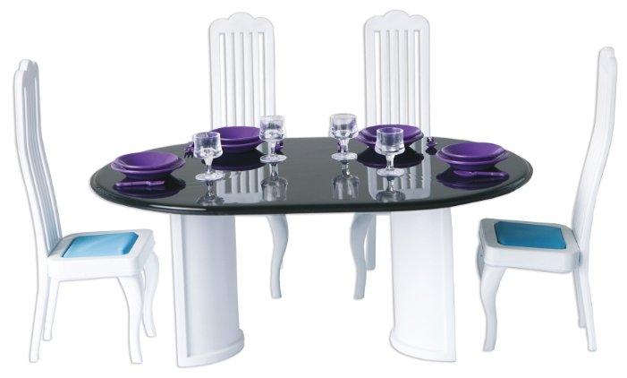 ОГОНЁК Набор мебели для столовой Конфетти (С-1332)