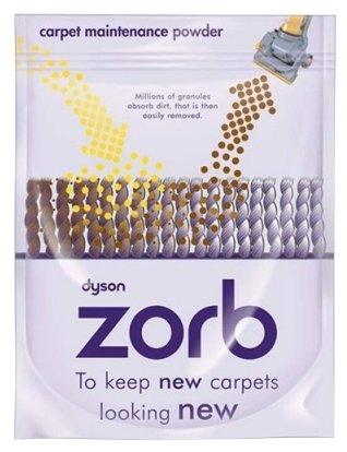 Dyson Порошок для сухой чистки ковров Zorb
