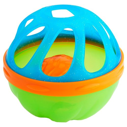 Купить Игрушка для ванной Munchkin Мячик для ванной (23209/11308) голубой/зеленый, Игрушки для ванной