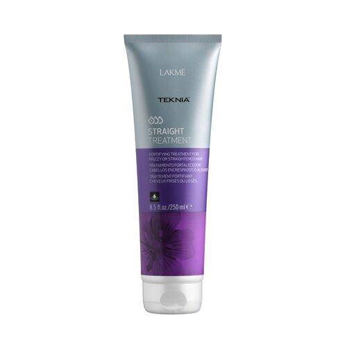 Lakme Teknia Straight Средство укрепляющее для вьющихся или химически выпрямленных волос, 50 мл