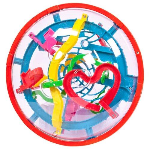 Головоломка ABtoys Интеллектуальный шар 3D в диске (РТ-00563) многоцветный