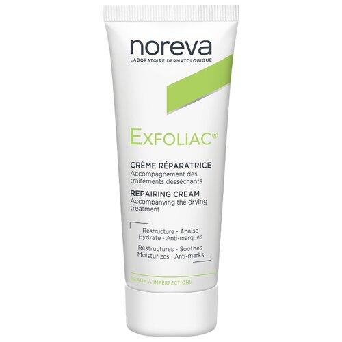 Noreva laboratories Exfoliac Крем Creme reparatrice, 40 мл noreva laboratories bb крем для проблемной кожи exfoliac 30 мл оттенок light