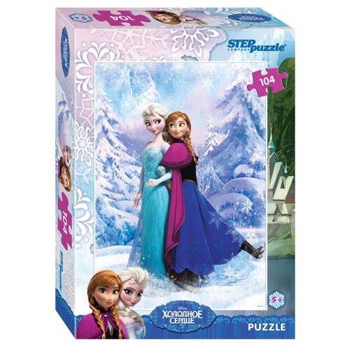 Купить Пазл Step puzzle Disney Холодное сердце (82126), 104 дет., Пазлы