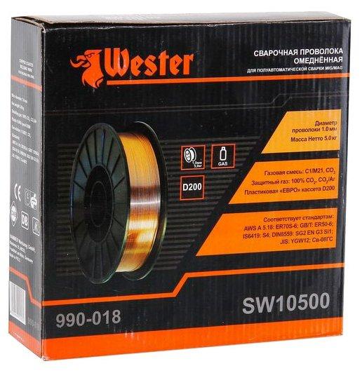 Проволока из металлического сплава Wester SW10500 1мм 5кг