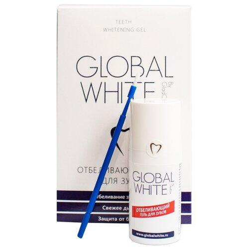 Global White Отбеливающий гель для зубов 15 млПолоскание и уход за полостью рта<br>