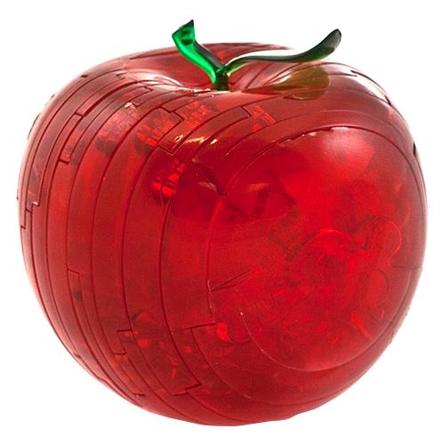 Купить 3D-пазл Crystal Puzzle Красное яблоко (90005), 44 дет., Пазлы