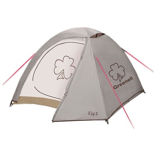 Палатка Greenell Эльф 2 v.3 коричневый