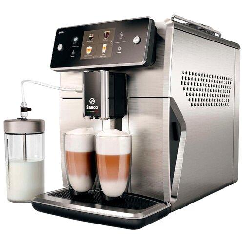 Кофемашина Saeco SM7685 нержавеющая стальКофеварки и кофемашины<br>