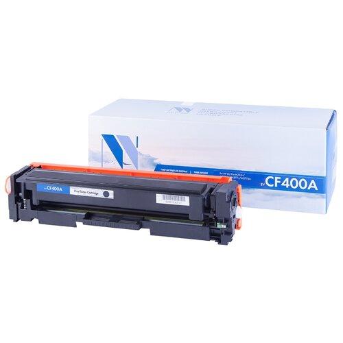 Фото - Картридж NV Print CF400A для HP, совместимый картридж nv print q7551x для hp совместимый